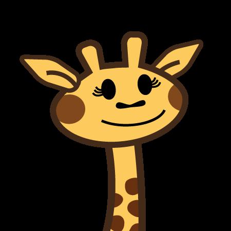 personaggio giraffe
