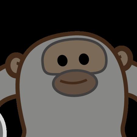 personaggio gorilla