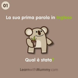 parola inglese bambino