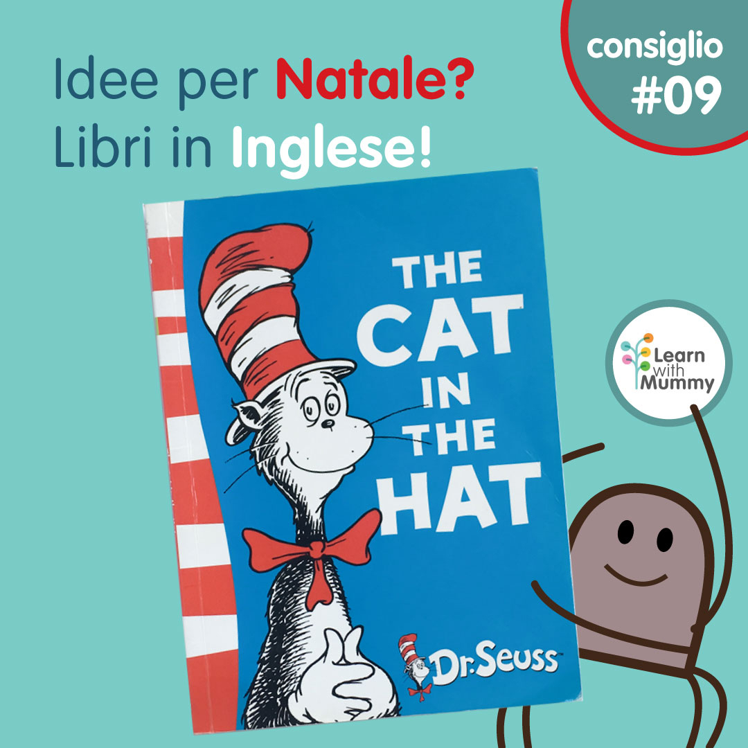 cat in the hat libro bambini rima inglese