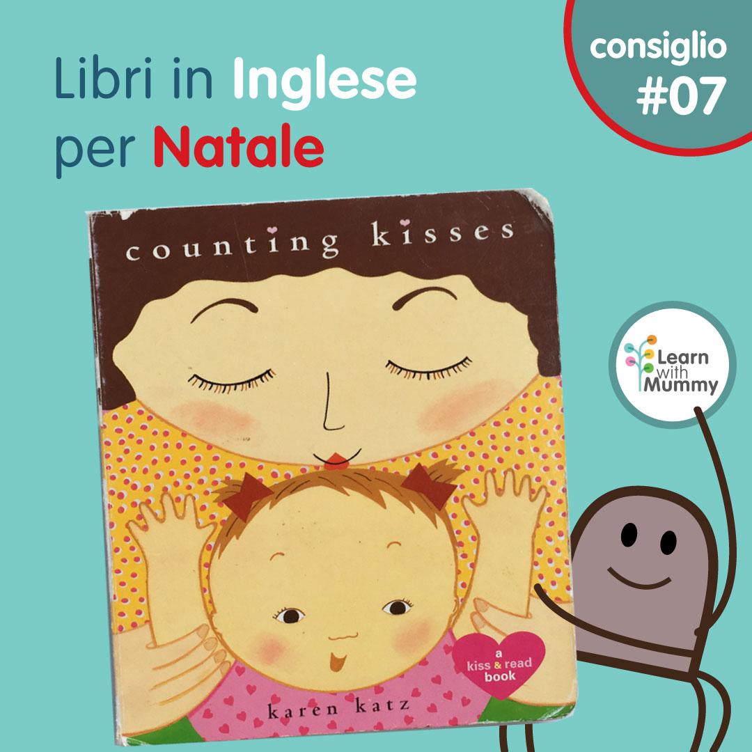 counting kisses libro inglese bambini