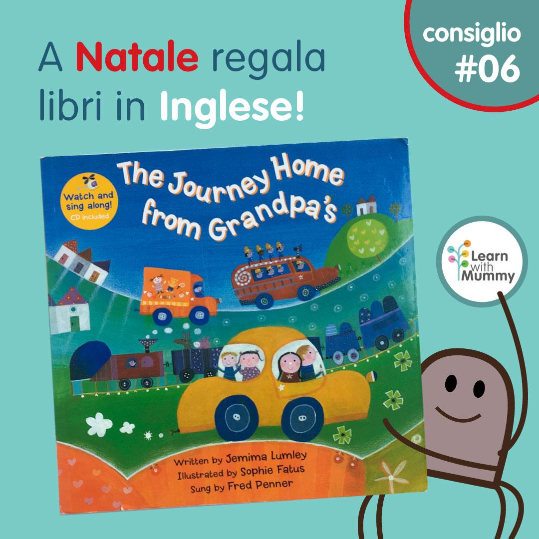grandpa libro inglese bambini trasporti