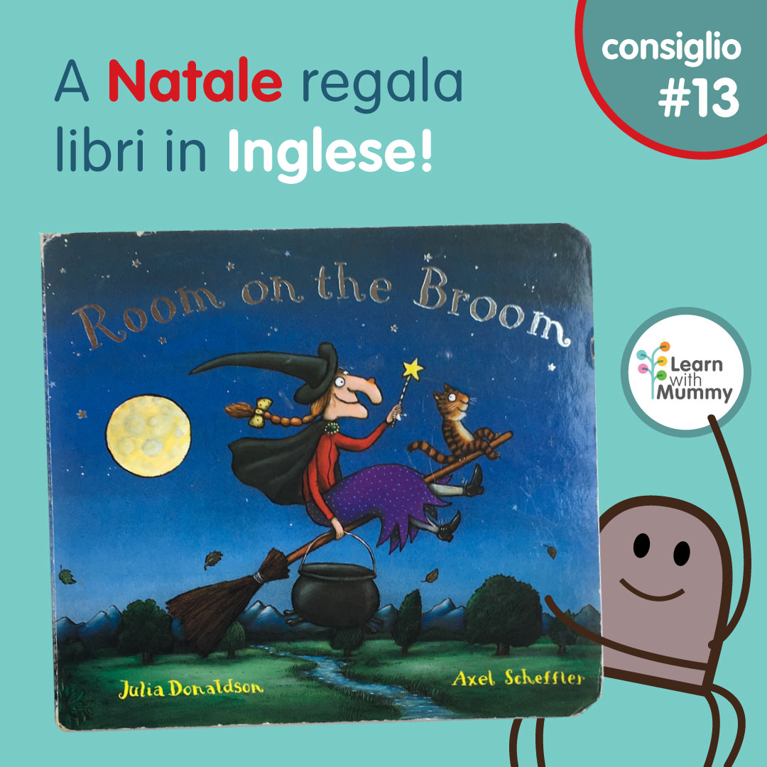 room on the broom libro inglese bambini strega