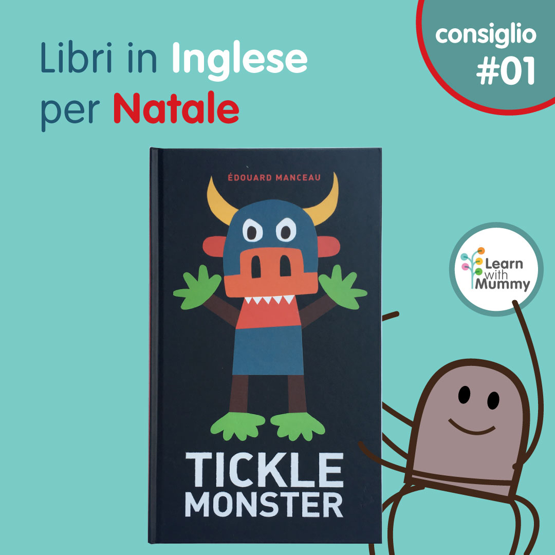 tickle monster libro inglese solletico paura mostri