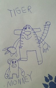 alissa tiger monkey