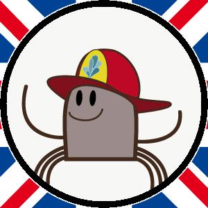 disegno-di-un-ragnetto-che-indossa-un-casco-da-pompiere-simbolo-del-corso-di-inglese-per-bambini-di-cremona-300x300