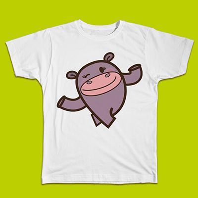 T-Shirt HIPPO