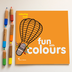Fun with colours – colouring book