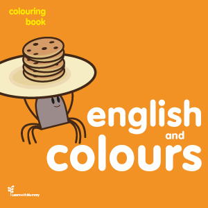 English and colours – colouring book