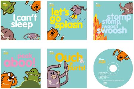 Jungle series + CD