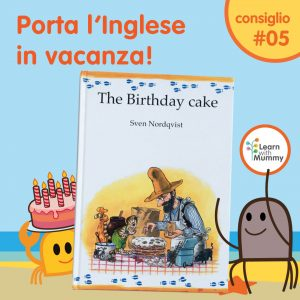libro inglese bambini svezia torta cake