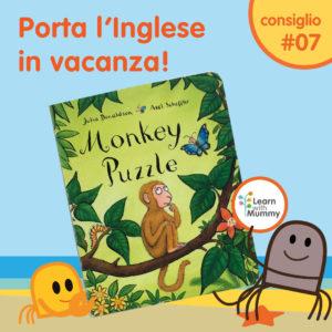 libro inglese bambini donaldson rima monkey