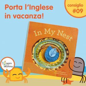 libro inglese bambini piccoli tattile cartonato semplice