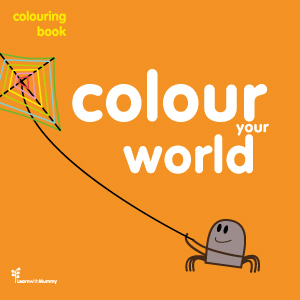 Colour your world – colouring book