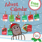 Calendario dell'Avvento in Inglese – scaricalo gratis, have fun!