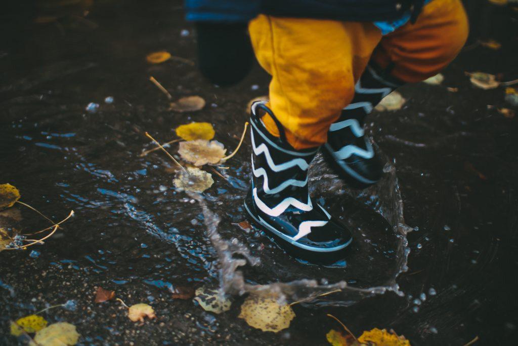 pozzanghere bambini stivaletti pioggia rain boots