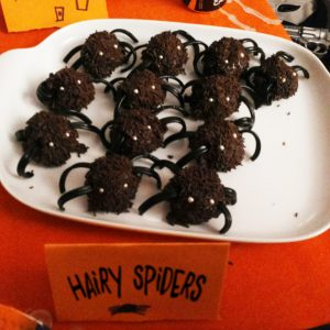 Hairy Spiders, Hallowenn cakes, foto By Anna Marcuzzi