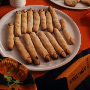 Dead's fingers, Hallowenn cakes, foto By Anna Marcuzzi