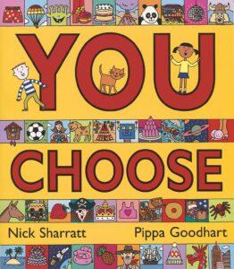 copertina di You Chose libro in inglese per bambini