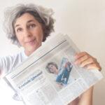 letizia quaranta con articolo del corriere della sera sui corsi di inglese per bambini basati sul gioco
