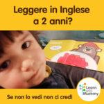 un bambino davanti ad un libro illustrato in inglese mostra come leggere e imarare l'inglese da piccoli