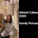 video foto di bambini e genitori giocano in inglese calendario avvento 2020