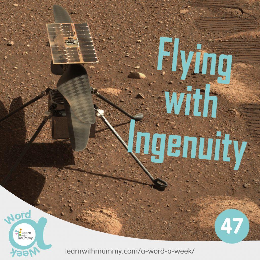 il drone ingenuity sul suolo di Marte