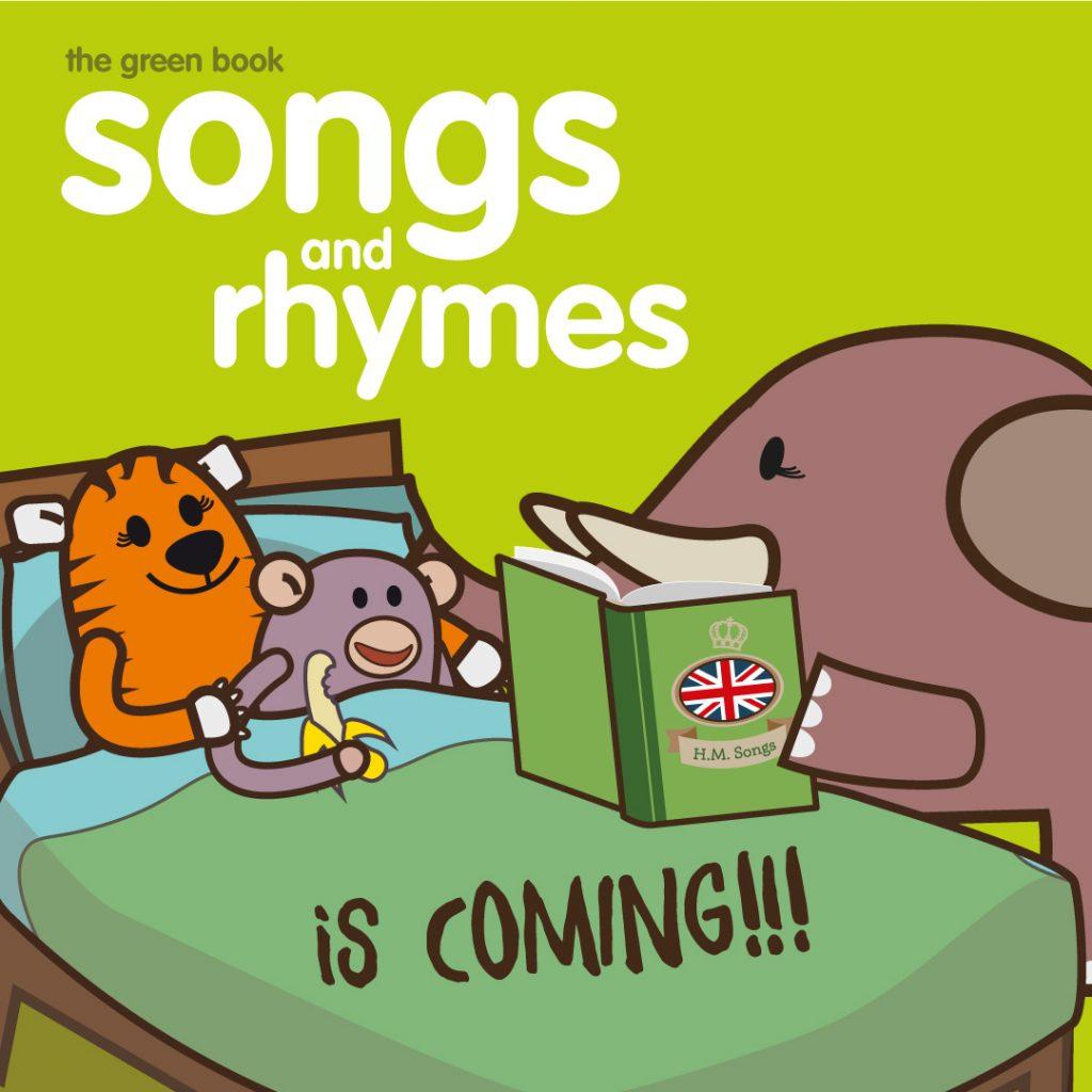 presentazione libro di canzoni in inglese per bambini